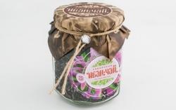 """Сибирский Иван-Чай листовой """"Теплый цветок"""", 85 г, банка"""