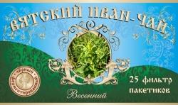 Вятский Иван-Чай весенний , 25 фильтр-пакетов, 50 г